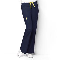 CID5026A-NVY-XXS - WonderWinkRomeo - 6-Pocket Flare Leg Pant
