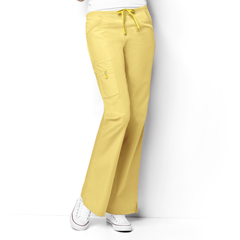 CID5026T-YLW-MT - WonderWinkRomeo - 6-Pocket Flare Leg Pant