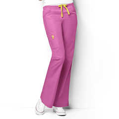 CID5026A-PEO-XXS - WonderWinkRomeo - 6-Pocket Flare Leg Pant