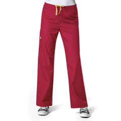 CID5036A-RED-XL - WonderWinkUnisex Drawstring Cargo Pant