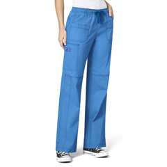 CID5108T-MBL-LT - WonderWinkFaith Multi-Pocket Cargo Pant