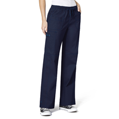 CID5108T-NVY-MT - WonderWinkFaith Multi-Pocket Cargo Pant