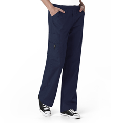 CID5716A-NVY-LG - WonderWinkMens Pull Cord Waist Pant