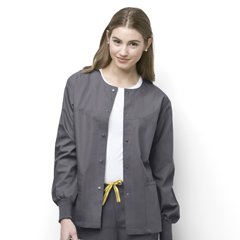 CID8006A-PEW-MD - WonderWinkDelta - Snap Front Jacket