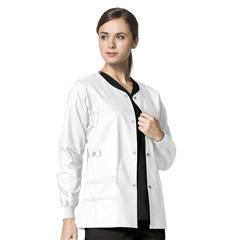 CID8108A-WHT-XS - WonderWinkConstance Snap Jacket