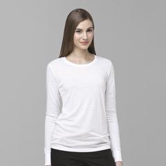 CIDC30109A-WHT-SM - CarharttLong Sleeve Burnout Jersey Tee