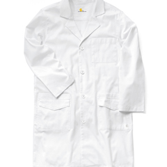CIDC70503Y-WHT-50 - CarharttMens Twill 6-Pocket Lab Coat