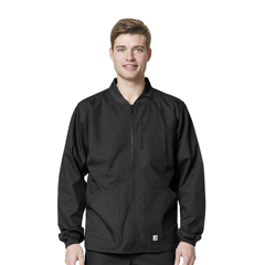 CIDC84108A-BLK-MD - CarharttMens Ripstop Zip Front Jacket