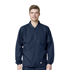 CIDC84108A-NVY-XL - CarharttMens Ripstop Zip Front Jacket