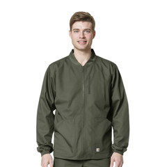 CIDC84108A-OLI-MD - CarharttMens Ripstop Zip Front Jacket
