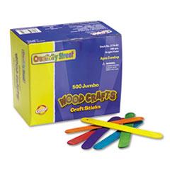 CKC377602 - Chenille Kraft® Colored Wood Craft Sticks
