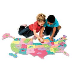 CKC4377 - Creativity Street® WonderFoam® Giant U.S.A. Puzzle Map