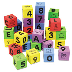 CKC4416 - Chenille Kraft® WonderFoam® Learning Blocks