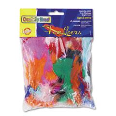 CKC4502 - Creativity Street® Chenille Kraft® Bright Hues Feather Assortment