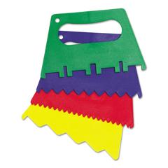 CKC5185 - Creativity Street® Plastic Paint Scrapers