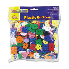 CKC6120 - Chenille Kraft® Plastic Button Assortment