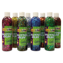 CKC8562 - Creativity Street® Glitter Chip Glue Class Pack