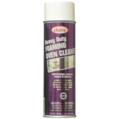 CLA824-6PAK - ClaireHeavy Duty Foaming Oven Cleaner - 6 Cans per Case
