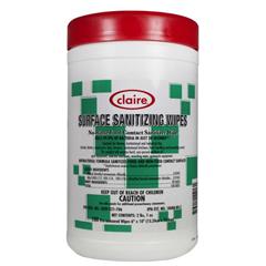CLA913 - ClaireSurface Sanitizing Wipes