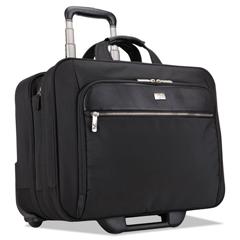CLG3200943 - 17 Checkpoint Friendly Rolling Laptop Case, 17.9 x 10.6 x 14.8, Black