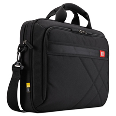 CLG3201433 - Diamond 15.6 Briefcase, 16.1 x 3.1 x 11.4, Black