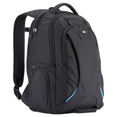CLG3203772 - 15.6 Checkpoint Friendly Backpack, 2.76 x 13.39 x 19.69, Polyester, Black