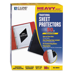 CLI00010 - C-Line® Traditional Sheet Protector