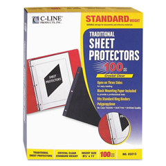 CLI03213 - C-Line® Traditional Sheet Protector