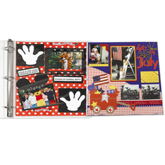 CLI05247BNDL3PK - C-Line ProductsPanoramic Fold-Out Center Loading Scrapbook Page Protectors, 12 x 12