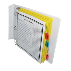 CLI05350BNDL36PK - C-Line Products5-Tab Paper Index Dividers, Assorted Color Tabs