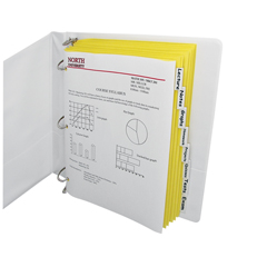 CLI05387BNDL18PK - C-Line Products8-Tab Paper Index Dividers, Clear Tabs