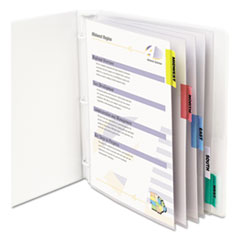 CLI05550 - C-Line® Sheet Protector with Index Tabs And Inserts