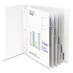 CLI05557 - C-Line® Sheet Protector with Index Tabs And Inserts
