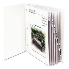 CLI05587 - C-Line® Sheet Protector with Index Tabs And Inserts