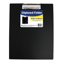 CLI30601BNDL6EA - C-Line ProductsClipboard Folder, Black