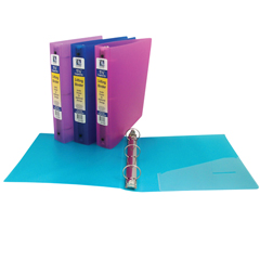 CLI31720BNDL6EA - C-Line Products - 3-Ring Poly Binder, 1 1/2 Capacity
