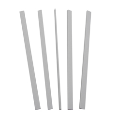 CLI34557 - C-Line ProductsBinding Bars Only, White, 11 x 1/8