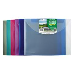 CLI35000BNDL18EA - C-Line ProductsBiodegradable Reusable Poly Envelope, Side Load