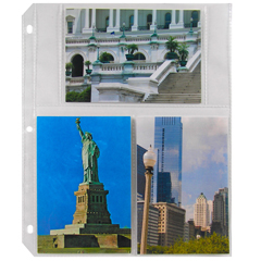 CLI41346BNDL2BX - C-Line Products - 4 x 6 Multiview Photo Holders, Clear, 11 1/32 x 9 3/16