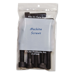 CLI47246 - C-Line ProductsWrite-On Reclosable Small Parts Bags, 4 x 6