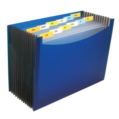 CLI48235BNDL3EA - C-Line Products13-Pocket Expanding File, Blue