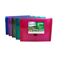CLI48310BNDL3EA - C-Line Products - Biodegradable 13-Pocket Letter Size Expanding File