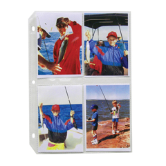 CLI52584BNDL2BX - C-Line Products35mm Ring Binder Photo Storage Pages, 3 1/2 x 5, Top Load