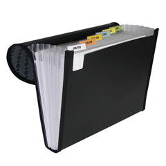 CLI56012BNDL3EA - C-Line Products7-Pocket Letter Size Expanding File, Fashion Circle Series