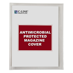 CLI56147 - C-Line ProductsMagazine Cover w/Antimicrobial Protection