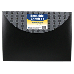 CLI56612BNDL8EA - C-Line Products - Poly XL Reusable Envelope w/ Hook and Loop Closure, Fashion Circle Series
