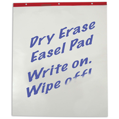 CLI57253 - C-Line Products - Dry Erase Easel Pad, 10 Sheets/Pad, 30 X 25