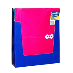 CLI58010BNDL24EA - C-Line Products - Reusable Poly Envelope w/String Closure, Side Load