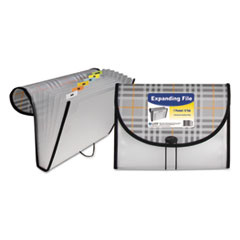 CLI58012 - C-Line® Plaid Design Expanding File
