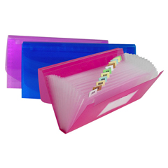 CLI58710BNDL6EA - C-Line Products13-Pocket Junior Size Expanding File